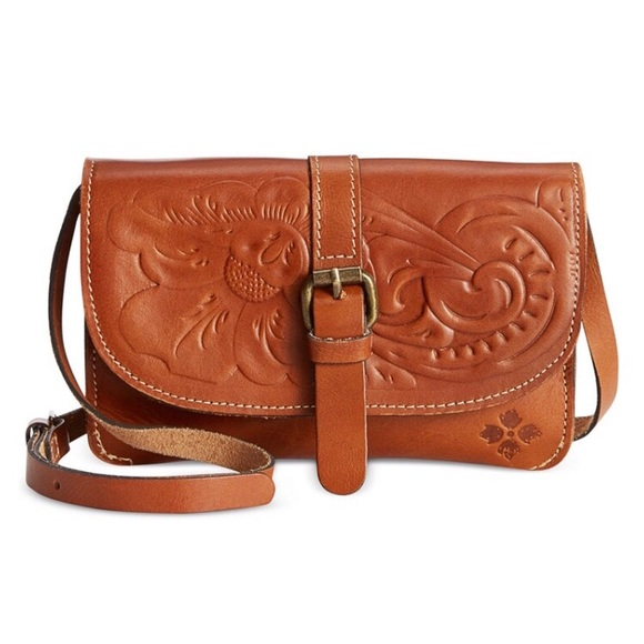 NWT Patricia Nash Leather Crossbody